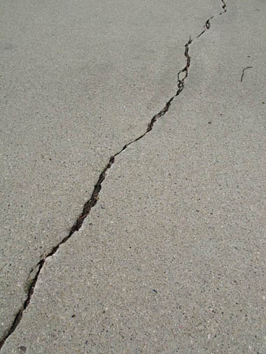 this picture shows a driveway repair in Oceanside, San Diego